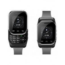 Deals, Discounts & Offers on Men - Kenxinda W1 S Black Dual Sim Smart Watch