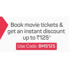BookMyShow Offers and Deals Online - Get upto 50% Cashback on Movie Tickets