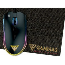 Gamdias Zeus E1 Optical Gaming Mouse And Gaming Mouse Mat