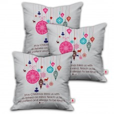 Amazon Offers and Deals Online - Indibni Christmas Gifts White Cushion Cover
