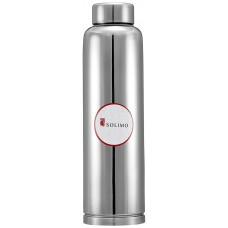 Solimo Regal Stainless Steel Fridge Bottle, 900 ml, Set of 1