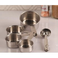 Pepperfry Offers and Deals Online - Dynore Measuring Cup & Spoon - Set of 4