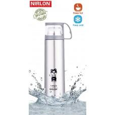 Nirlon Insulated Vacuum Flask Water Bottle , 450ML
