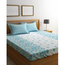 Myntra Offers and Deals Online - Alina Décor Regular Double Queen Bedsheet with 2 Pillow Covers