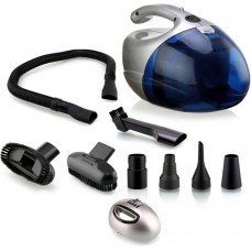 Deals, Discounts & Offers on Home Appliances - Nova NVC-2765 Dry Vacuum Cleaner  (Blue, Silver)