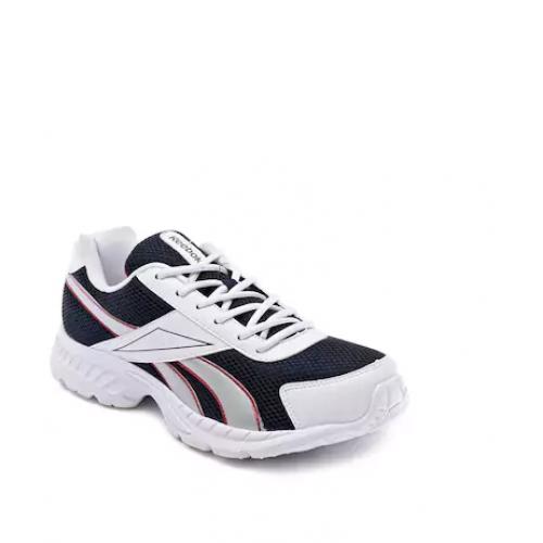 the latest c250f 9c85b Deals, Discounts   Offers on Men Footwear - Reebok Men s Acciomax LP White    Navy