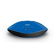 Deals, Discounts & Offers on Electronics - Philips IN-BT4200A/94 Portable Wireless Bluetooth Speakers (Blue)