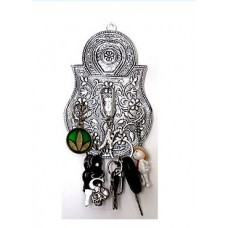 ShopClues Offers and Deals Online - Handmade Decorative Wall mounted Key Stand/Holder - Lock Design