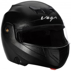 Deals, Discounts & Offers on Auto & Sports - Vega Crux CRX-B-L Flip-up Helmet (Black, L)