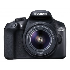 Deals, Discounts & Offers on Cameras - Canon EOS 1300D 18MP Digital SLR Camera (Black)