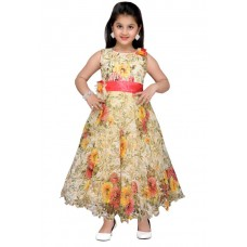 Adiva Girls Maxi/Full Length Party Dress