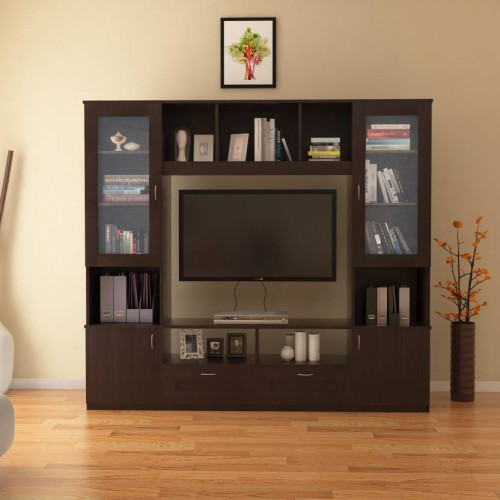 Home Furniture Prices: HomeTown Missouri Engineered Wood TV Entertainment Unit