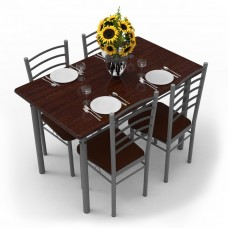 Amazon Offers and Deals Online - Forzza Leo Four Seater Dining Table Set