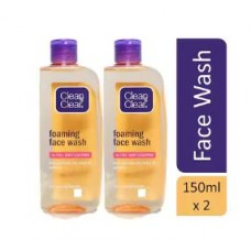 Paytm Offers and Deals Online - Clean & Clear Foaming Facial wash 150 ml (Pack of 2)