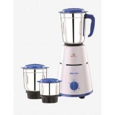Tatacliq Offers and Deals Online - Bajaj Pluto 500 Watt 3 Jar Mixer Grinder (White & Blue)