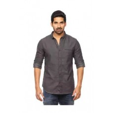 Paytm Offers and Deals Online - Buy 2 & Get 40% cashback on Spykar Mens Anthra Retro fit Mid Rise Casual Shirts