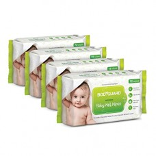 Deals, Discounts & Offers on Personal Care Appliances -  BodyGuard Premium Paraben Free Baby Wet Wipes with Aloe Vera - 288 Wipes (Pack of 4)