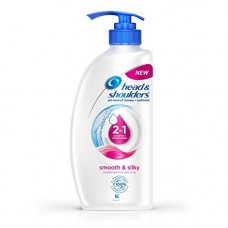 Deals, Discounts & Offers on Personal Care Appliances - Head & Shoulders Smooth and Silky 2-in-1 Shampoo + Conditioner, 675ml