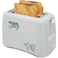 Deals, Discounts & Offers on Personal Care Appliances - Nova NBT-23o6 800 W Pop Up Toaster (White)