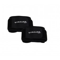 Deals, Discounts & Offers on Sports - Strauss Wrist Support Pair (Free Size, Black)