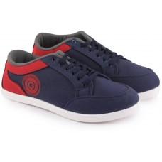 Deals, Discounts & Offers on Men Footwear - Globalite Stumble Walking Shoes  (Navy, Grey, Red)