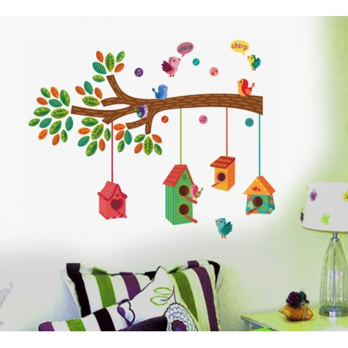 Deals discounts offers on home decor festive needs wall stickers upto 88