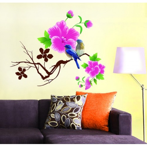 Deals discounts offers on home decor festive needs wall stickers upto 87