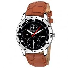 Deals, Discounts & Offers on  - Espoir Analogue Black Dial Men's Watch - Chrono0507