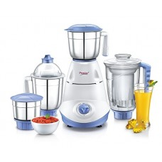 Deals, Discounts & Offers on Home & Kitchen - Prestige Iris(750 Watt) Mixer Grinder with 3 Stainless Steel Jar + 1 Juicer Jar