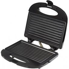 Deals, Discounts & Offers on Home & Kitchen -  Amazon Brand - Solimo Non-Stick Grill Sandwich Maker (750 watt, Black)