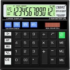 Deals, Discounts & Offers on  - Orpat OT-512GT Calculator (Black)