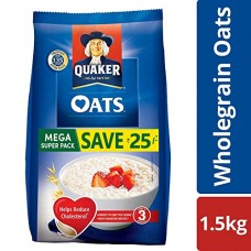 Deals, Discounts & Offers on Grocery & Gourmet Foods -  Quaker Oats, 1.5kg Pack