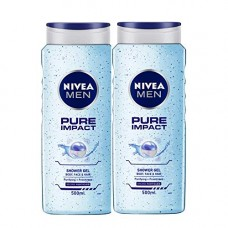 Deals, Discounts & Offers on Personal Care Appliances - Nivea Pure Impact Shower Gel, 500ml, 500 ml (Pack of 2)