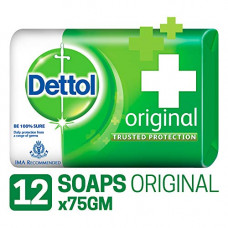 Deals, Discounts & Offers on Personal Care Appliances - Dettol Original Soap - 75 g (Pack of 12)