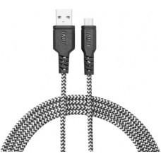 Deals, Discounts & Offers on Mobile Accessories - Mivi 6ft Nylon Braided 1.8 m Micro USB Cable(Compatible with All Phones With Micro USB Port, Black, One Cable)