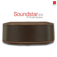Deals, Discounts & Offers on  - iBall Sound Star BT9 Compact and Portable Bluetooth Speaker (Brown)