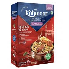 Deals, Discounts & Offers on Grocery & Gourmet Foods -  Kohinoor Authentic Basmati Biryani Kit, Hyderabadi, 327g