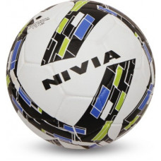 Deals, Discounts & Offers on Auto & Sports - Nivia Storm Revolution Football - Size: 5(Pack of 1, White, Green)