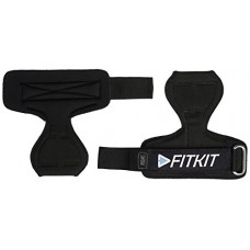 Deals, Discounts & Offers on  - Fitkit FPG1 Extra Padded Palm Wrist Grip/Support with Adjustable Neoprene Strap, Free Size (Pair)
