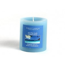 Deals, Discounts & Offers on  - Hosley Caribbean Breeze Highly Fragranced 3inch Pillar Candle