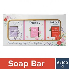 Deals, Discounts & Offers on Personal Care Appliances -  Yardley London Luxury Soap, 100g (Pack of 6)