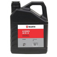 Deals, Discounts & Offers on  - Wuerth 5W-40 HC Synthetic Engine Oil (4 L)
