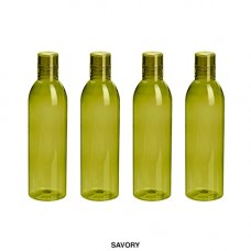 Deals, Discounts & Offers on Home & Kitchen - Steelo Savory Plastic Water Bottle, 1 Litre, Set of 4, Oliver Green