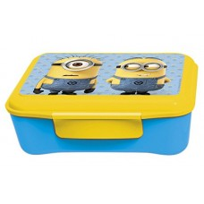 Deals, Discounts & Offers on Home & Kitchen - Minion Elite Plastic Lunch Box, 700ml, Yellow/Blue