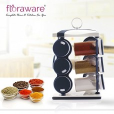 Deals, Discounts & Offers on Home & Kitchen - Floraware Spice Rack (Navy Blue)