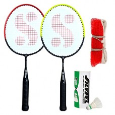 Deals, Discounts & Offers on  - Silver's Kids SIL-Pedal Combo-6 Aluminum Badminton Set