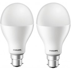 Deals, Discounts & Offers on  - Philips 20 W Standard B22 LED Bulb(White, Pack of 2)