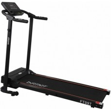 Deals, Discounts & Offers on  - FITKIT FT097 Steel 1 HP Motorized black (Free Installation) Treadmill