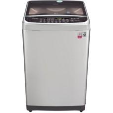 Deals, Discounts & Offers on Home Appliances - LG 8 kg Fully Automatic Top Load Washing Machine Silver(T9077NEDLY)