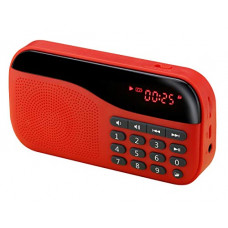 Deals, Discounts & Offers on  - Portronics POR-143 Plugs Portable Speaker (Red)